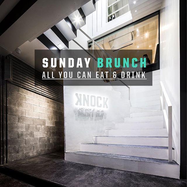 The Knockout Brunch is on tomorrow! 1,000 THB (w/ free-flow alcohol 1,500 THB) from 11:30am to 3:00pm.#KnockOutSundays  ก่อนจะหมดวันหยุดสงกรานต์นี้ มาฉลองส่งท้ายกับ Knockout Brunch วันอาทิตย์นี้แบบ All You Can Eat  ในราคา 1,000 บาท (หรือ 1,500 บาท แบบแอลกอฮอลล์ไม่อั้น) ตั้งแต่เวลา 11.30 ถึงบ่าย3โมง  Reservations highly recommended || จองโต๊ะ 098-815-6625  สถานที่/Where: @knock_bkk  b/w Thonglor 15 & 17 วัน/When: Sunday, April 17 เวลา/Time: 11:30am - 3:00pm