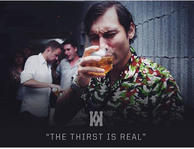 A public service announcement to all the victims of cotton mouth following the events of 4/20. The thirst is real TONIGHT at @knock_bkk. #ThirstyThursday