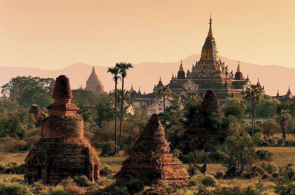 La vallée des temples,Birmanie