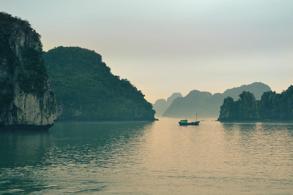La baie d'halong. Vietnam