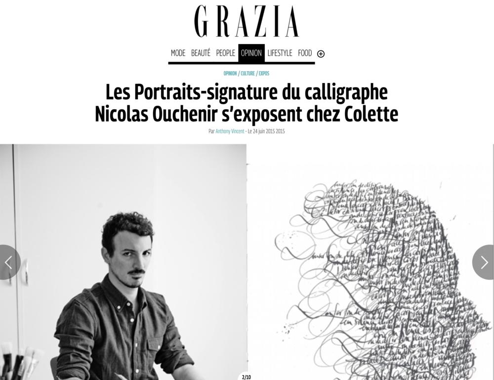 Grazia - June 2015