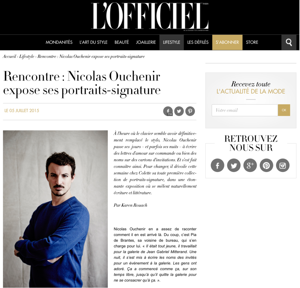 L  'OFFICIEL - July 2015