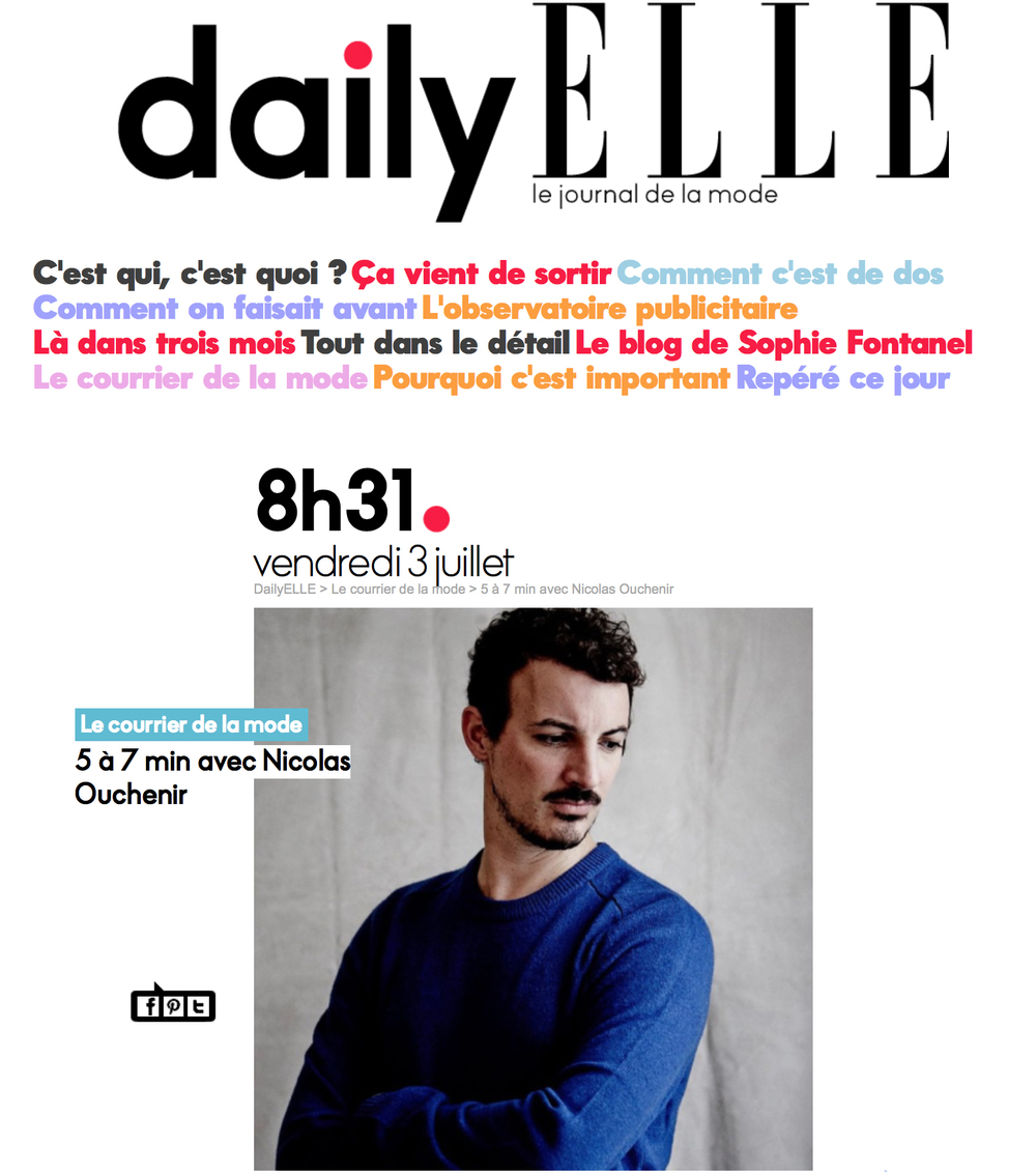 ELLE - July 2015