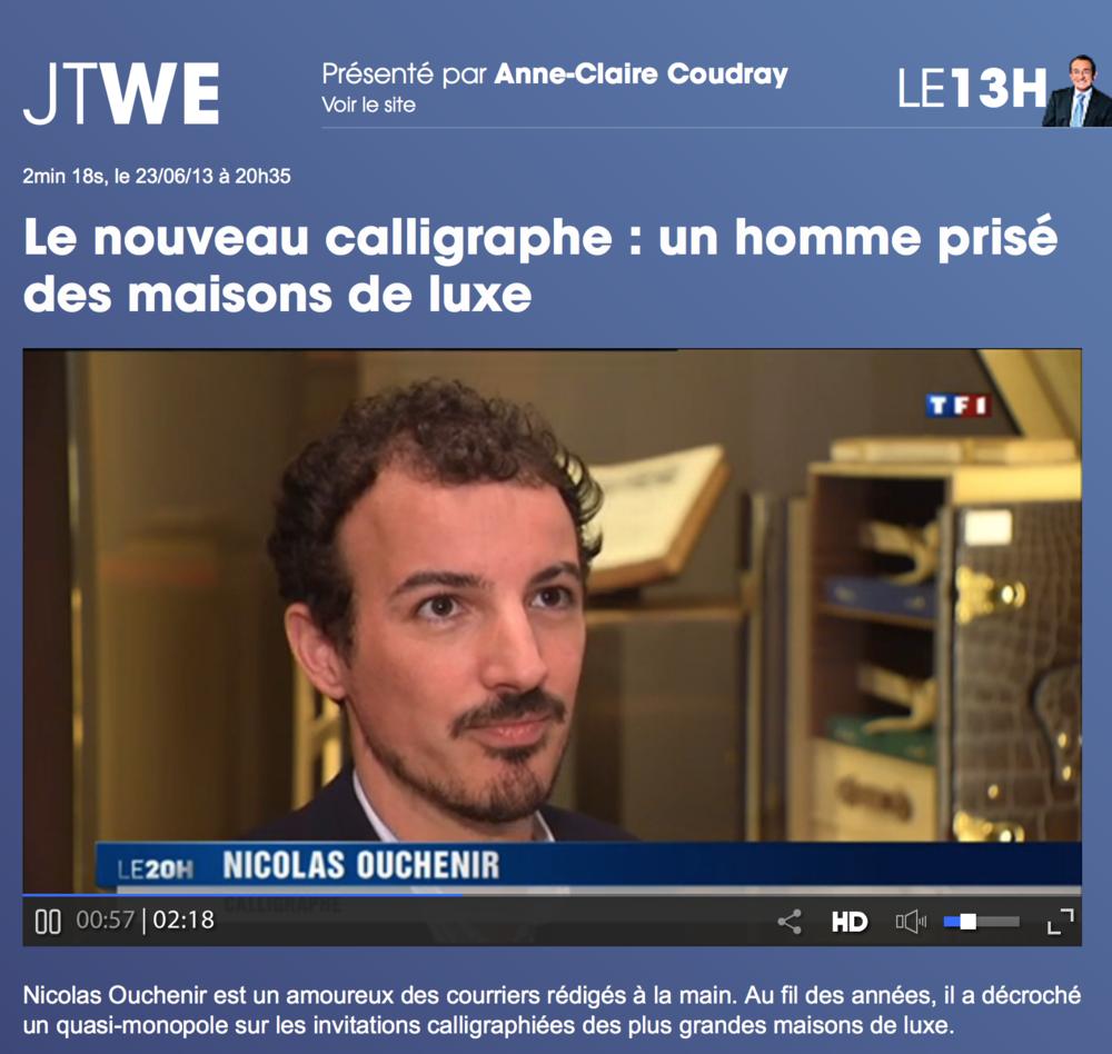 TF1 - Juin 2013