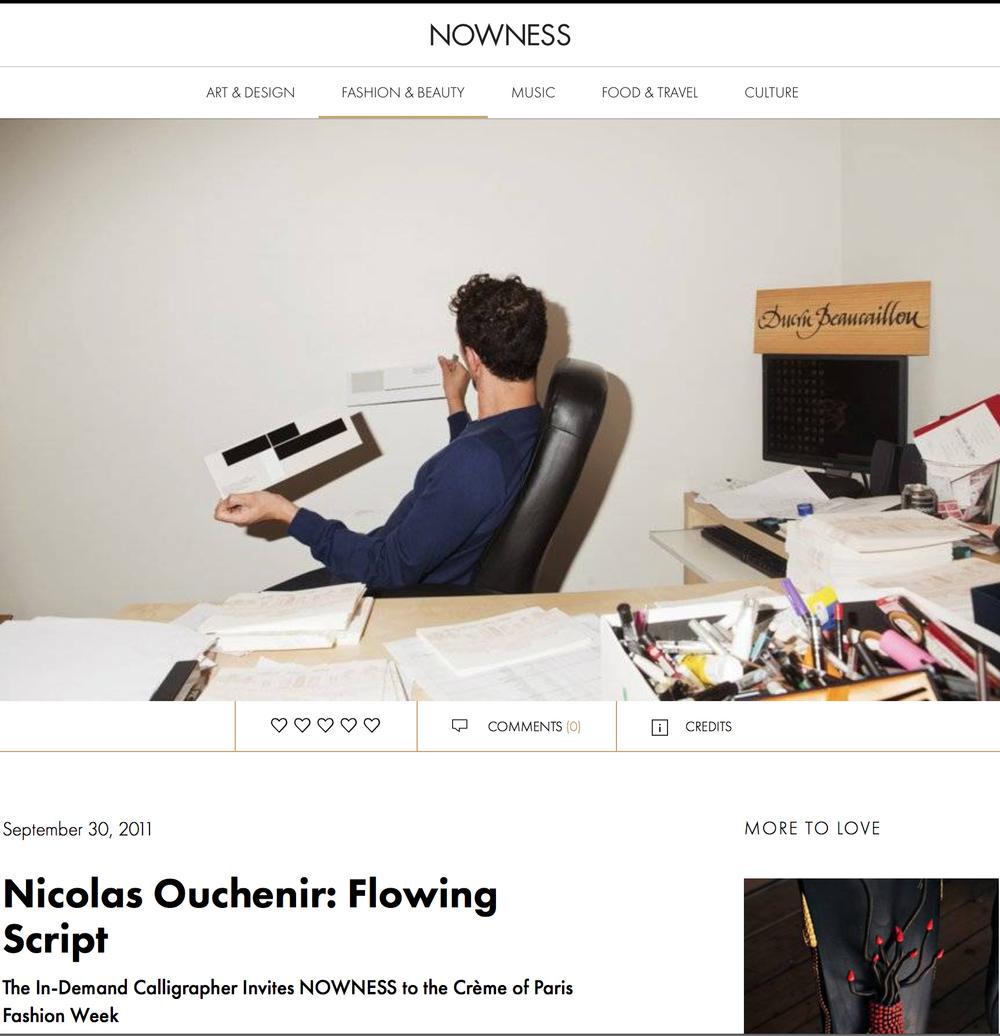 Nowness - September 2011