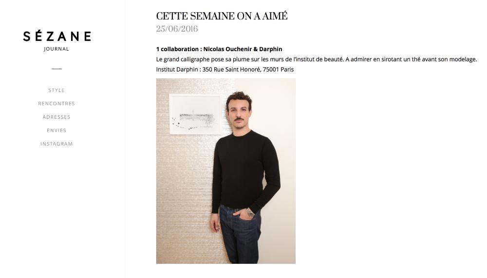 Journal Sézane - Juin 2016