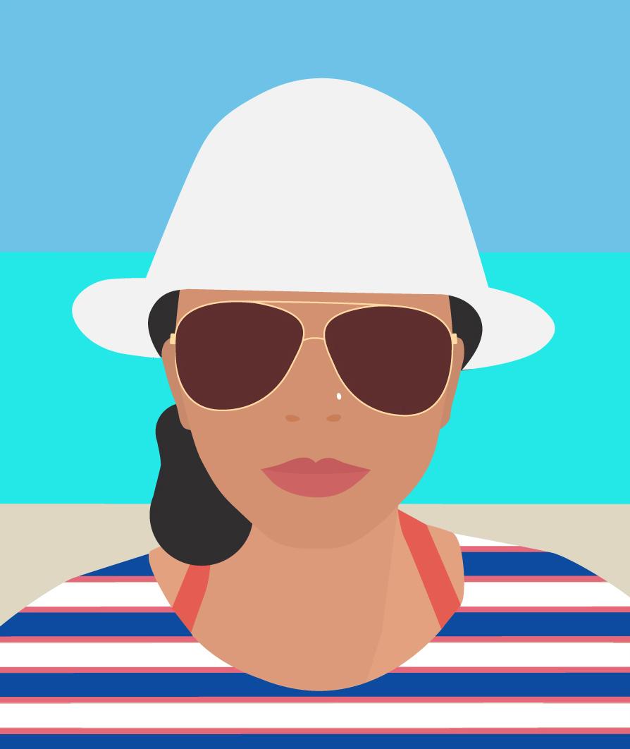 4. Summer Fedora (Selfie b) by Shweta Malhotra.jpg