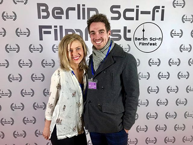 First night at the @berlinscififilmfest great seeing half of the other fan films selected. Looking forward to tomorrow nights screening! If you're in #berlin come down. Might even be a couple of QandAs from some of the filmmakers! #scifi #fanfilm #pokemon @theresurgencemovie