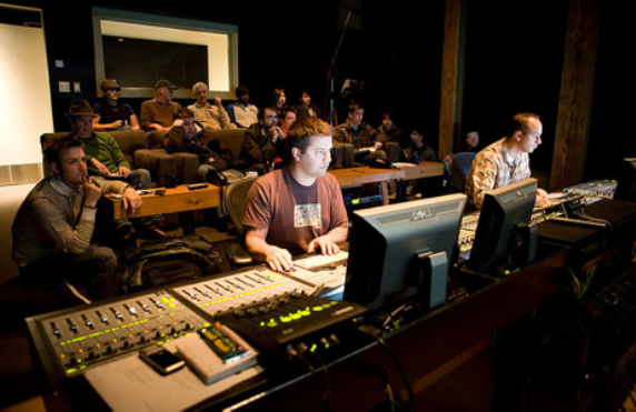 Our post-production team will be working hard at developing a  unique look and sound for the picture.