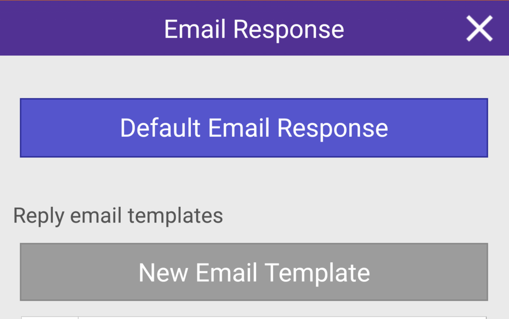 email template example cPro app