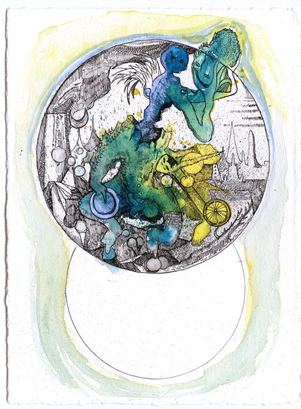 Max Razdow Painting Watercolor Drawing