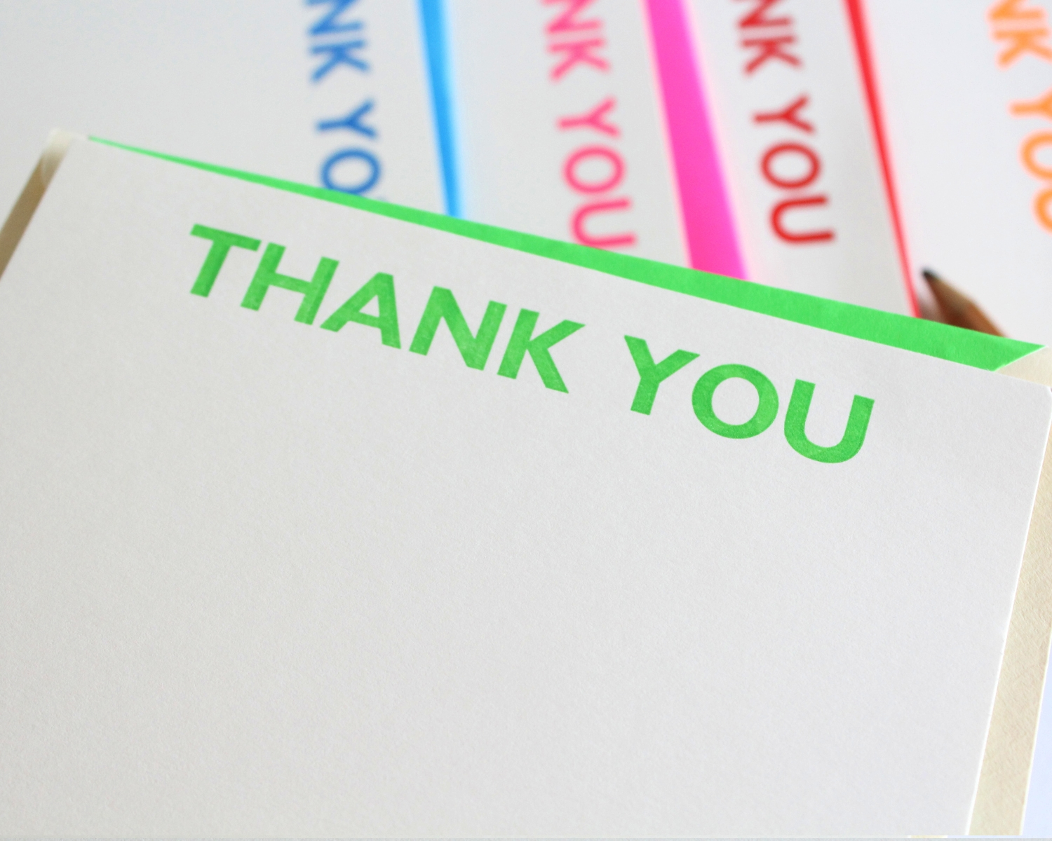 Hand Printed Thank You Cards 64 South