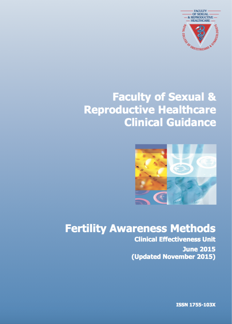 Faculty of sexual and reproductive health care guidelines