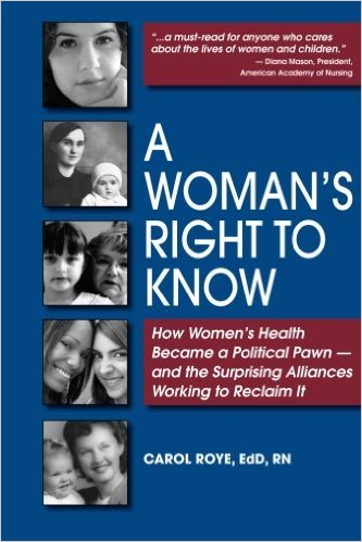 a woman's right to know book