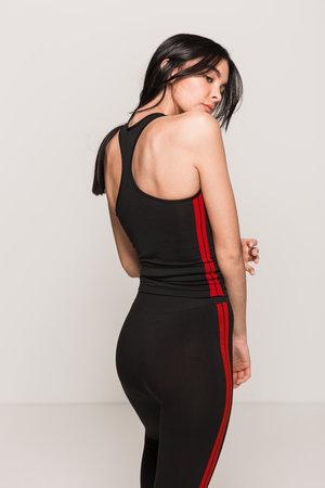 Red Stripe Vest
