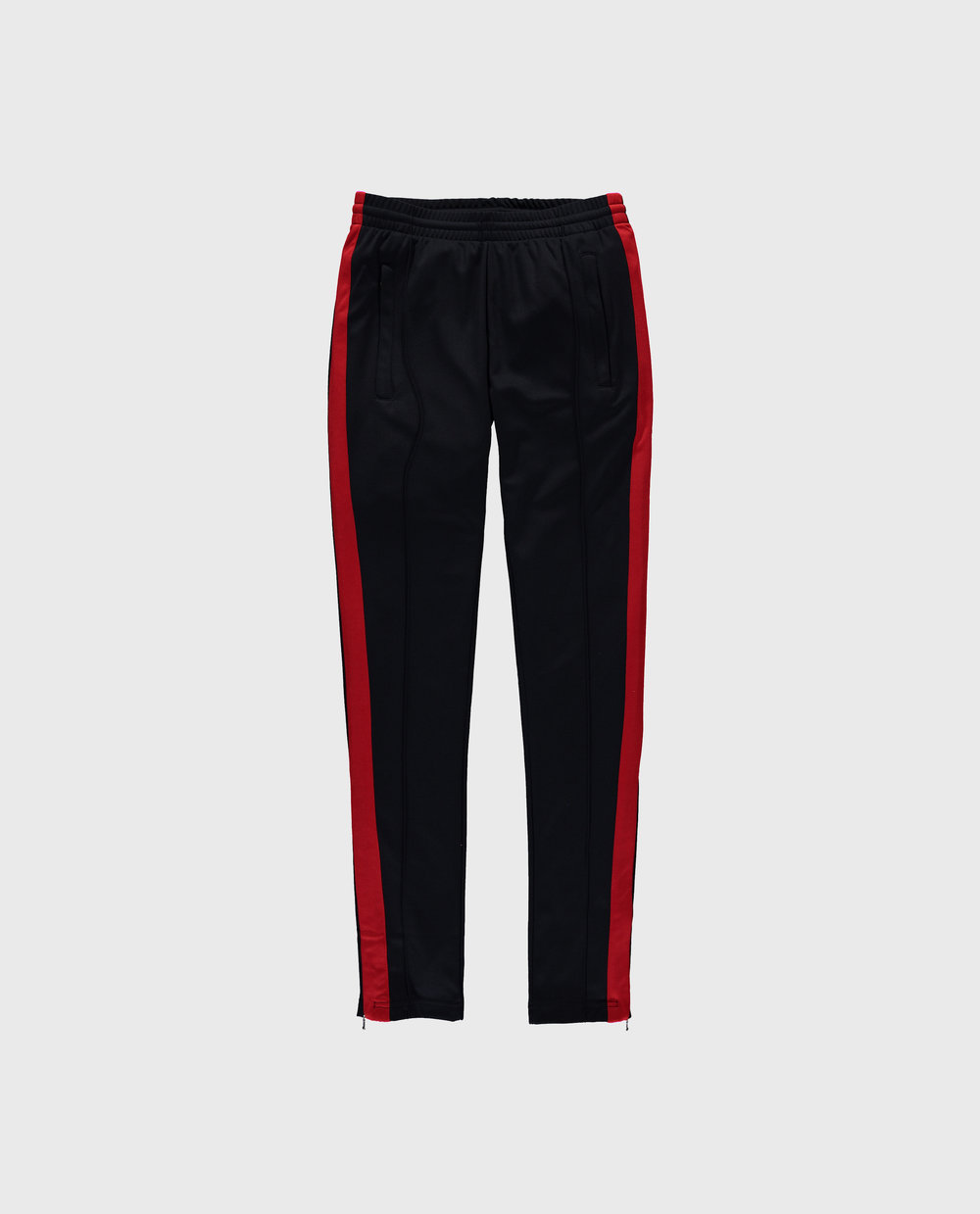 Track Pants - Navy/Red