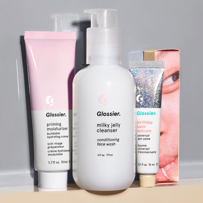 "6. Glossier Into The Gloss's beauty brand spin-off, Glossier, is all about 'real girls' and 'real life'. Their motto is 'Skin first. Makeup second."" All products are cruelty free."