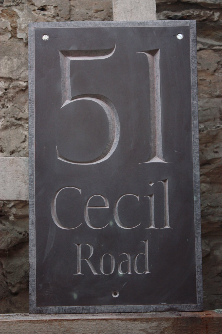 Cecil Road House name