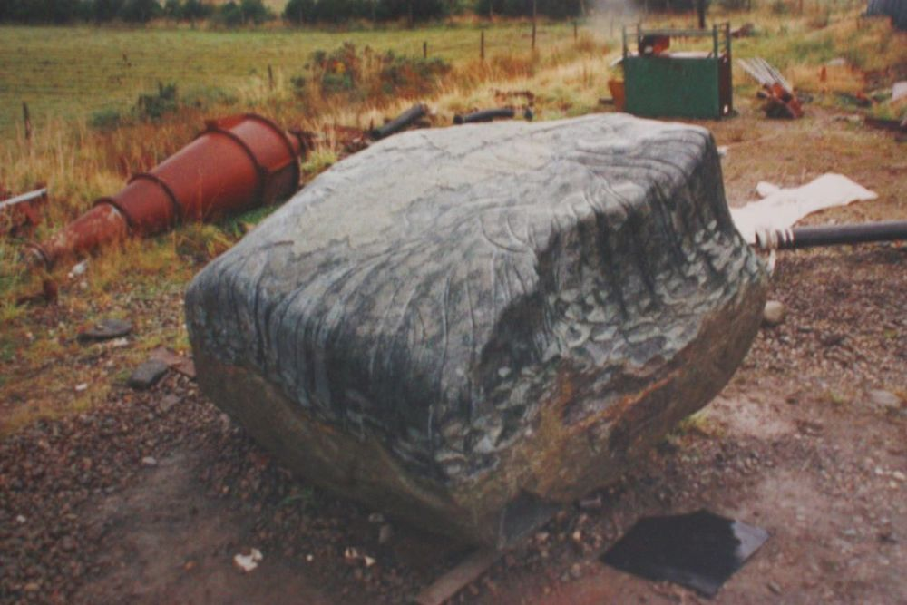 Holyhead  Boulder Andesite 10ft x 8ft x x 7ft a