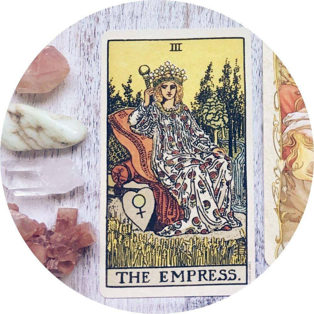 Sacred Empress Rider Waite.JPG