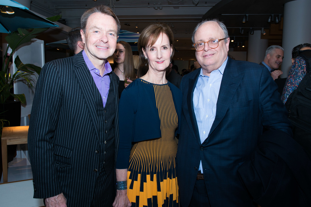 Michael Clinton, Hearst Magazines; Kate Kelly Smith, Hearst Design Group; Jim Druckman, New York Design Center