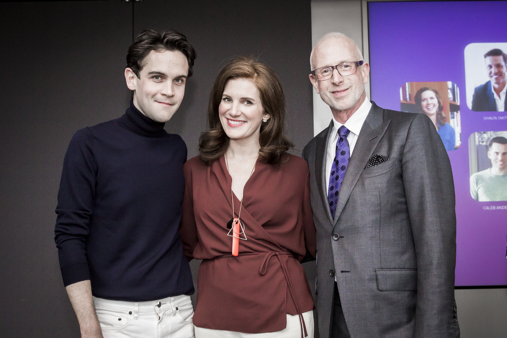 Patrick Mele, Next Wave Designer Alumnus, Sophie Donelson, Editor in Chief, House Beauitful; Jamie Drake, Drake + Anderson
