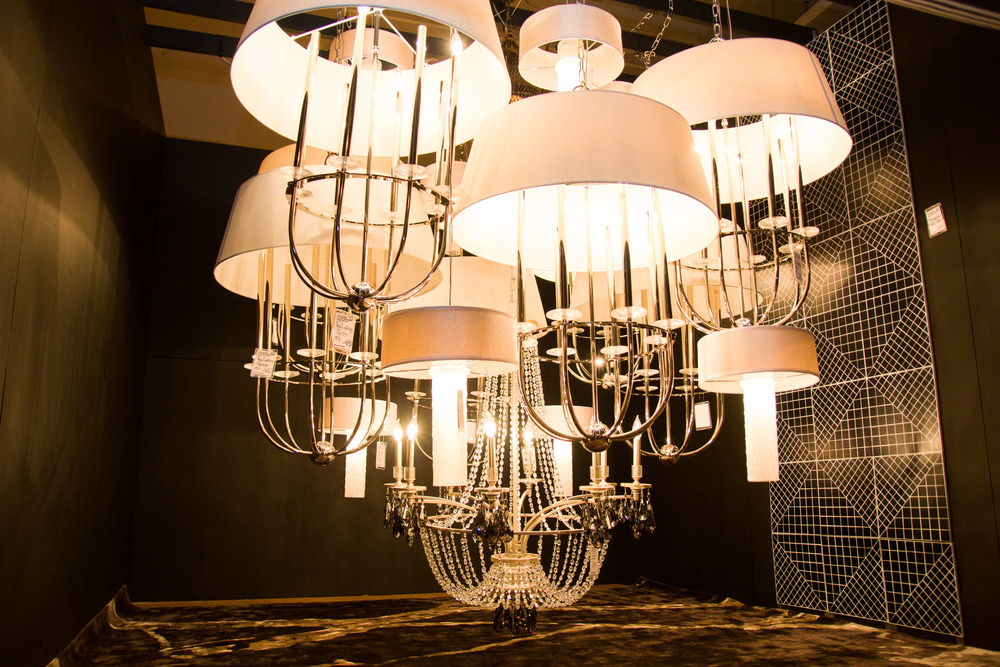The Light Fantastic   The Chandelier of Chandeliers created by designer Miguel Lewis for Littman Lighting.