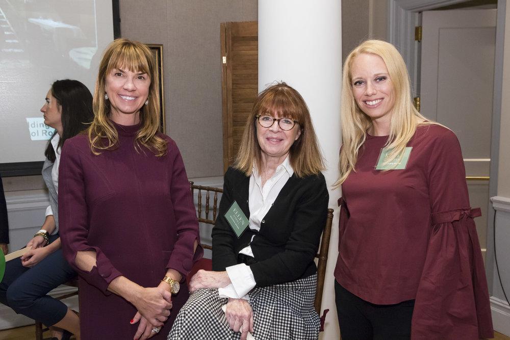 Chesie Breen, Ellen O'Neill, Kelly Sinatra