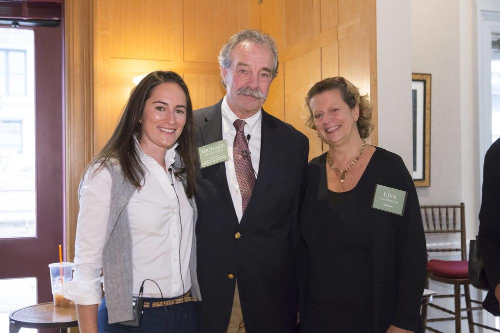 Olivia Brock, Michael Devonshire, Lisa Lachowetz
