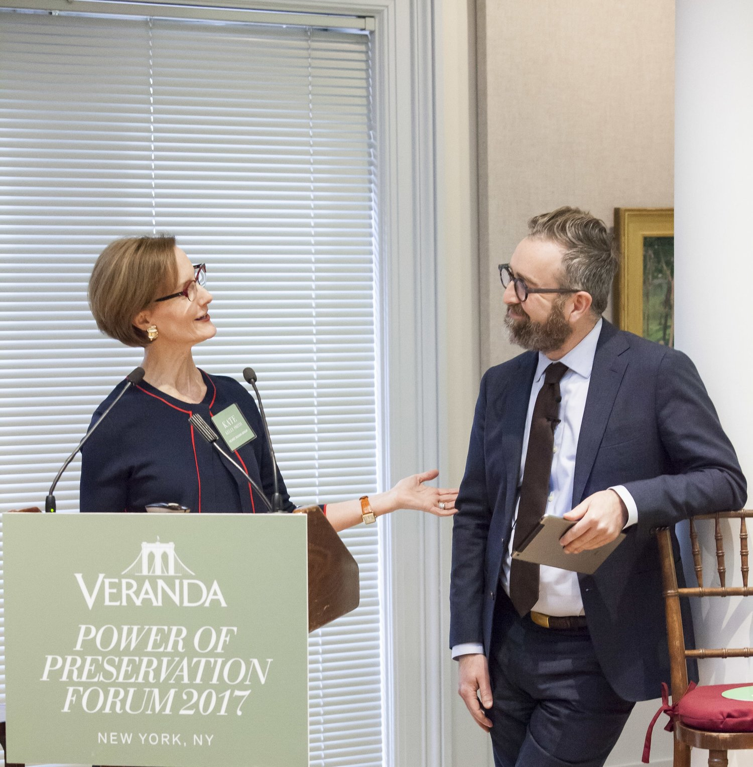 Amber Michaels Forum veranda hosts the power of preservation forum in new york