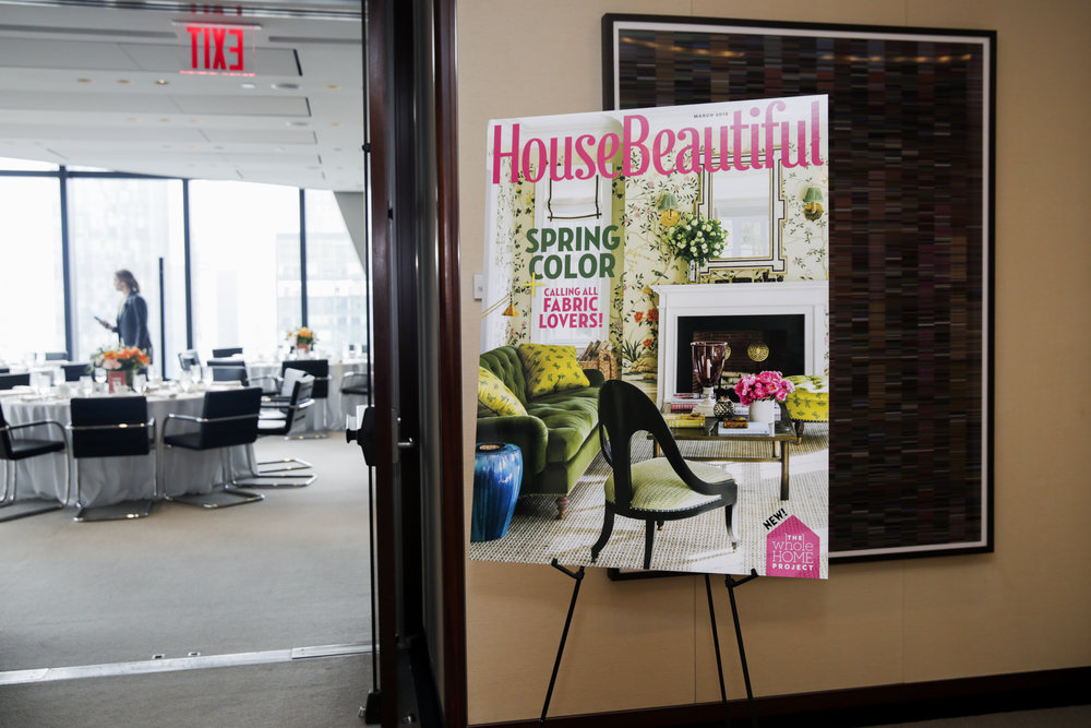 The March issue of House Beautiful