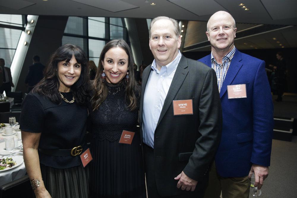 Kravet's Beth Greene, Alana Moskowitz, Steve Prada and Gary Searle