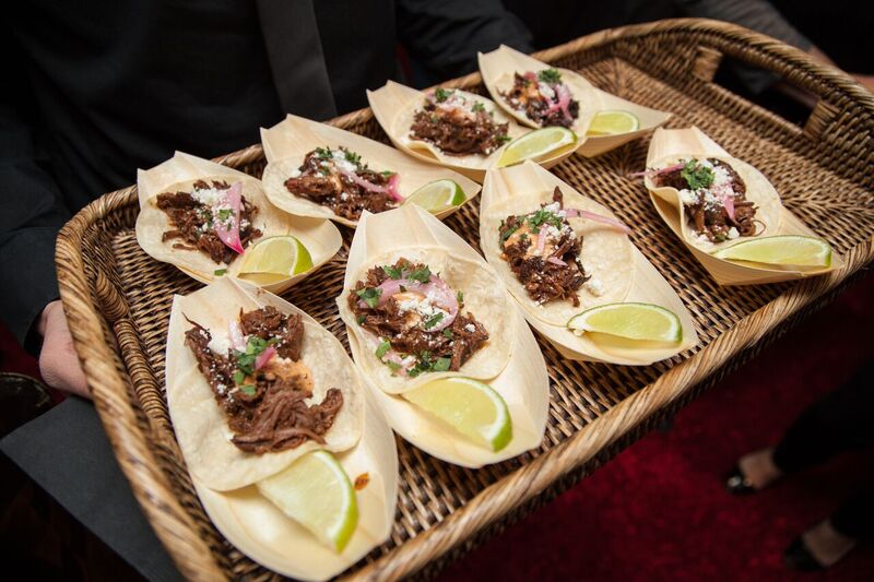 Braised beef short rib tacos