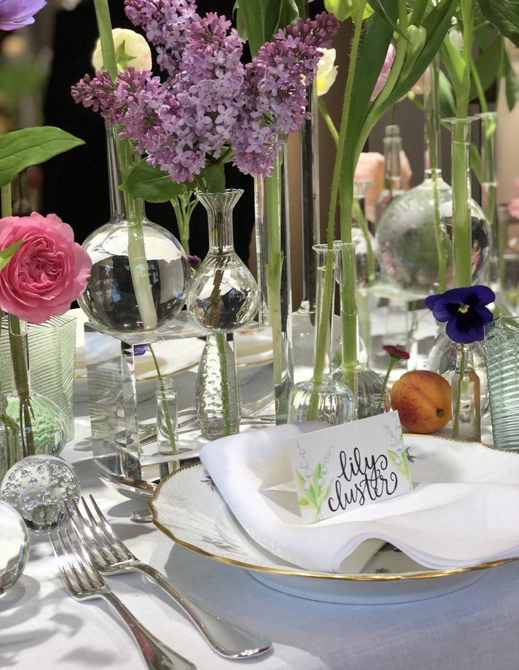 Vibrant fantasy tablescape