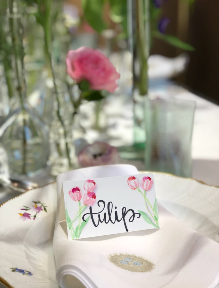 Customized table settings