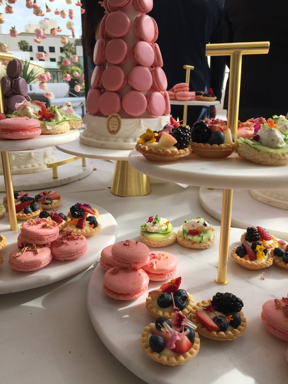Delectable pastries