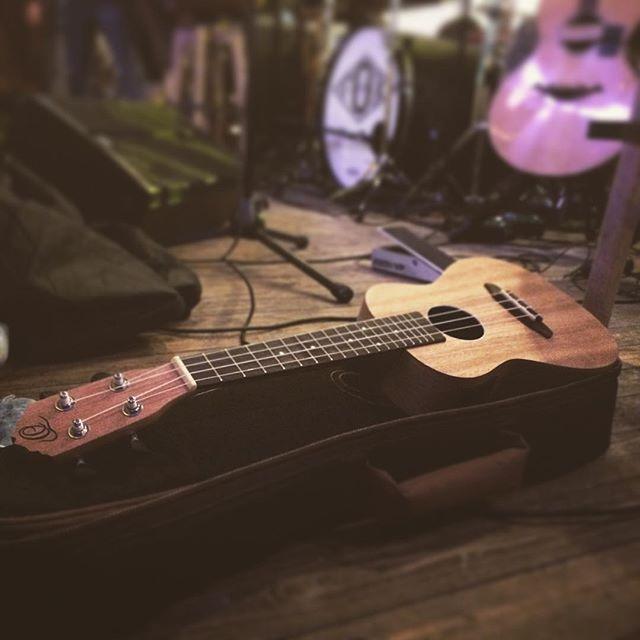 Ready! #ukulele #foxisaband #unplugged