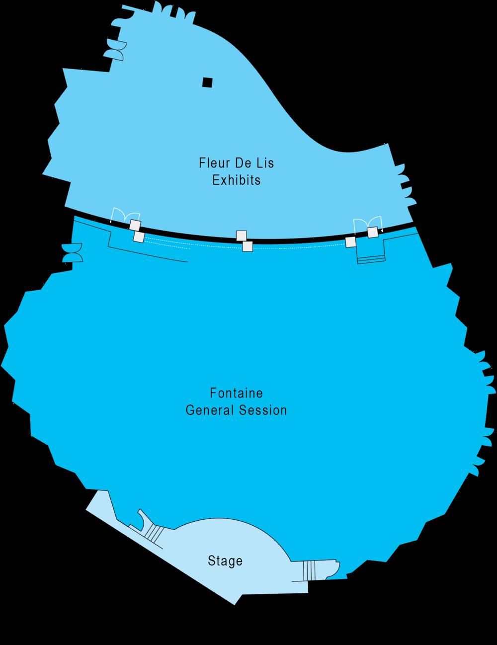 ICSC Fontainebleau Floor Plan
