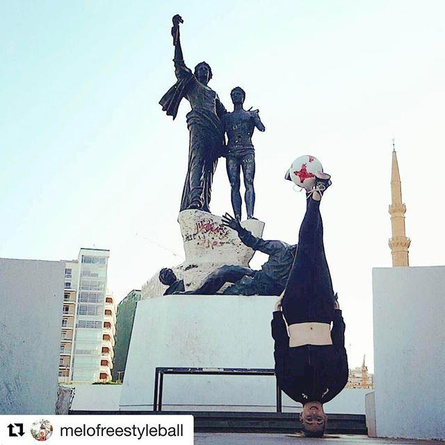 #lebanesewomen #internationalwomensday @melofreestyleball 💪🏻👍🏻🙃