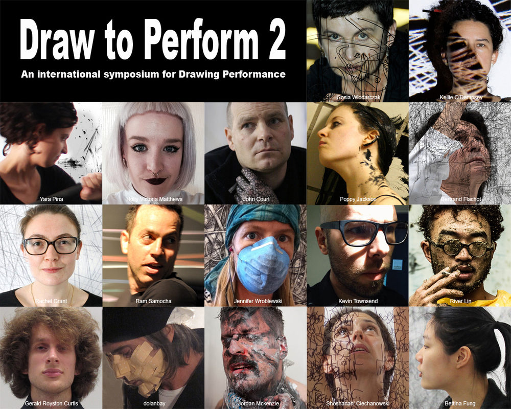 Kevin Townsend  (MFA AP16) will be participating in  Draw to Perform 2 , an exciting international art event that celebrates the unique discipline of live drawing performance. The upcoming Draw to Perform2 symposium will happen at  NUM3ER  London on Sat-Sun May 16-17, 2015. This time it will focus on durational drawing performances (6 hours long). The symposium will include live drawing performances, video screenings, artist's talks and lectures by 17 international artists. Day 1 – Live Performances: Saturday, 16th May 2015. From 11am-5pm. Day 2 – Discussion Day: Sunday, 17th May 2015. From 11am-5pm.