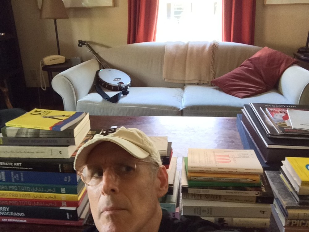 David Ross  (AP Chair) is among those featured in the  ARTnews Shelfie Project .
