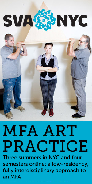 MFA Art Practice is still accepting applications for Summer 2014 Admission. Scholarships are available for qualified applicants. Begin your application today.