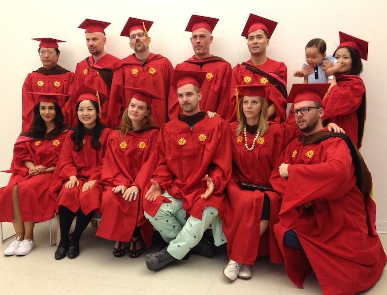 Congratualtions to our inaugural class,  MFA AP13 !
