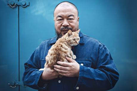 "Matthew Neiderhauser's (MFA AP13) portrait of Ai Weiwei is included in the  Taylor Wessing Photographic Portrait Prize Show at the National Portrait Gallery  in London. The work earned Neiderhauser the John Kobal New Work Award.    Photo: ""The Nine Lives of Ai Weiwei"" by Matthew Neiderhauser"