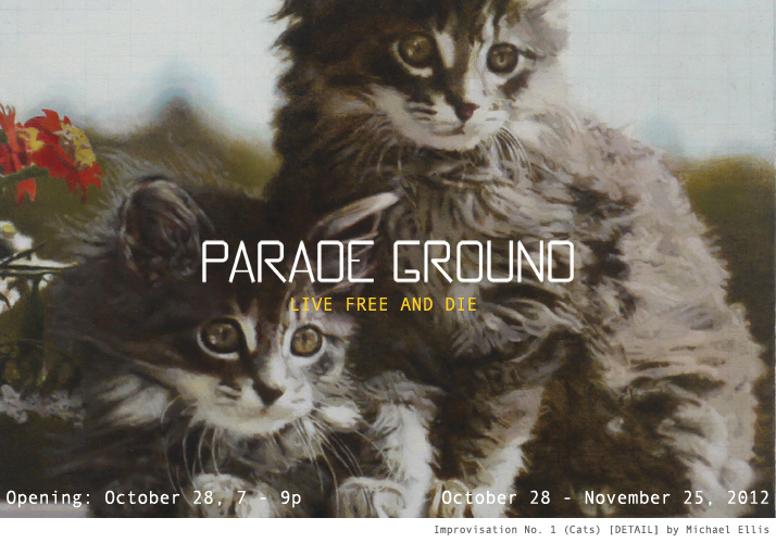 """Art Practice participant Bradford Kessler is participating in the group show """"Live Free or Die"""" at Parade Ground opening Sunday, October 28."""