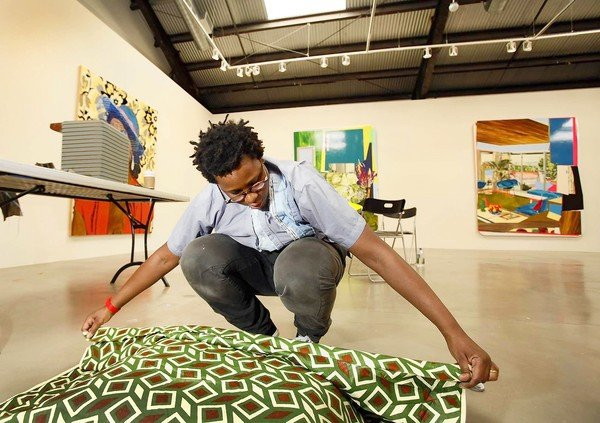 Mickalene Thomas is to contemporary painting what Daft Punk is to music: acclaimed as one of the more original remix artists working today.       -Jori Finkel on AP Faculty member  Mickalene Thomas   in the LA Times