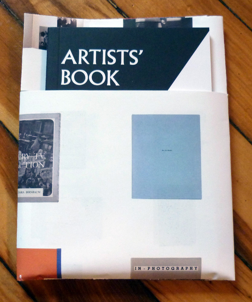 Art Practice mentor  John Baldessari  and faculty member  Dara Birnbaum  each have work included in  Artists' Book Not Artists' Book  at  Boo-Hooray gallery .