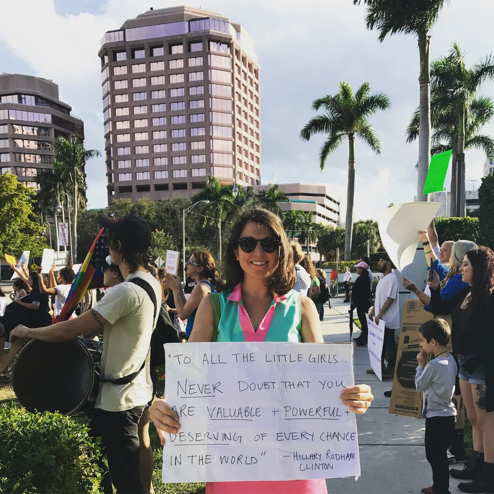 Callie Barker (AP'15) in Miami