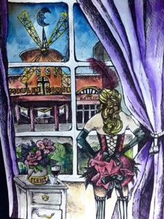 Sketch for Mulin Rouge Painting..jpg