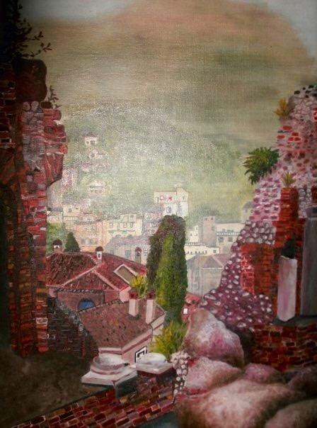 The Ruins. 16_ x 20_. Oil on Canvas. .jpg